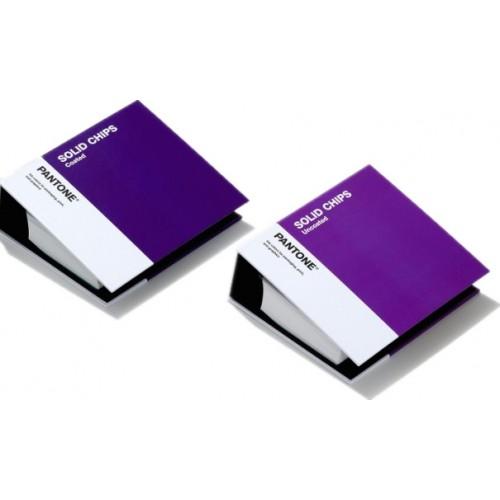 專色色票 - 光面銅版紙 & 膠版紙 Solid Chips Coated & Uncoated (GP1606A)