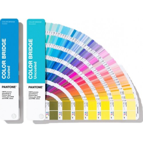 色彩橋樑指南 - 光面銅版紙 & 膠版紙套裝 Color Bridge Guide Set - Coated & Uncoated (GP6102A)
