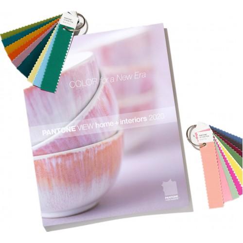 2020 PANTONEVIEW 家居裝飾 + 室内裝潢流行色展望 包含標準棉布版色卡 (VH2020)