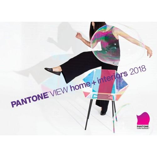 2018 PANTONE®VIEW 家居裝飾 + 室内裝潢流行色展望 (VH2018)